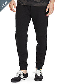 Polo Sport Double-Knit Moto Joggers