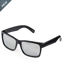 True Nation® Black Oversized Retro Sunglasses