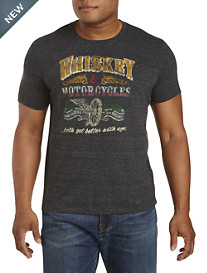 Lucky Brand® Whiskey and Motorcycles Tee
