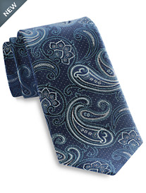 Rochester Tonal Exploded Paisley Silk Tie