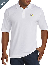 Cutter & Buck® University of Michigan Performance Piqué Polo