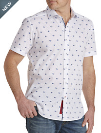 Robert Graham® Tarek Sunglass-Print Sport Shirt