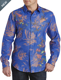 Robert Graham® Limited Edition Samo 20 Surf Embroidered Sport Shirt