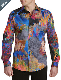 Robert Graham® Limited Edition Zucker Multi Print Sport Shirt