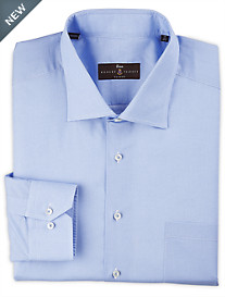 Robert Talbott Cielo Fine Poplin Print Dress Shirt