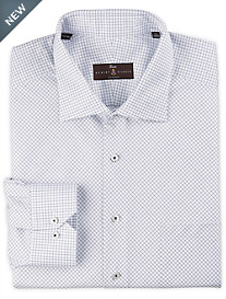 Robert Talbott Estate Diamond Graph Check Dress Shirt