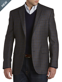 Jack Victor® Check Wool Sport Coat