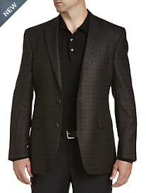 Jack Victor® Plaid Sport Coat
