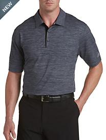 adidas® Golf Gradient Heather Jersey Polo