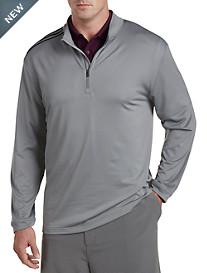 adidas® Golf 3 Stripe Quarter-Zip Pullover