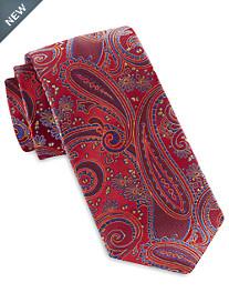 Robert Talbott Vibrant Exploded Paisley Silk Tie