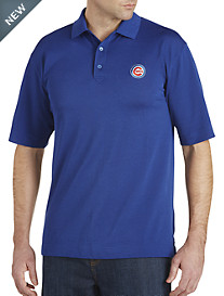 Cutter & Buck™ Chicago Cubs Performance Piqué Polo