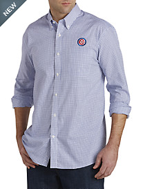 Cutter & Buck™ Chicago Cubs Mini Check Sport Shirt