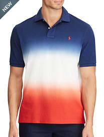 Polo Ralph Lauren® USA Dip-Dyed Mesh Polo