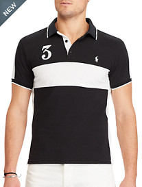 Polo Ralph Lauren® Featherweight Colorblock Mesh Polo