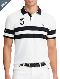 Polo Ralph Lauren® Featherweight Stripe Mesh Polo