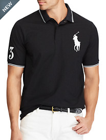 Polo Ralph Lauren® Big Pony Tipped Stretch Polo