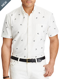 Polo Ralph Lauren® Embroidered Anchor Oxford Sport Shirt