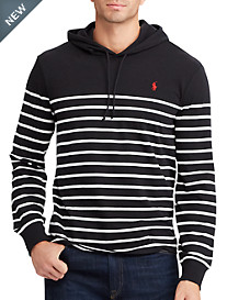 Polo Ralph Lauren® Stripe Jersey Hooded T-Shirt