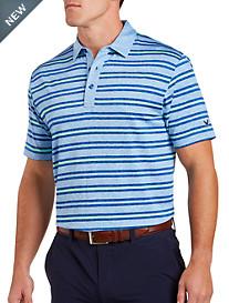 Callaway® Heathered Stripe Polo