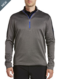 Callaway® Waffle Knit Quarter-Zip Colorblock Pullover