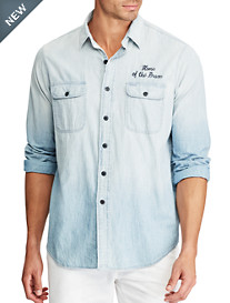 Polo Ralph Lauren® Eagle Back Chambray Work Shirt