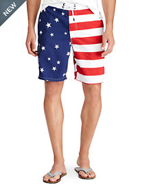 Polo Ralph Lauren® Kailua Flag Swim Trunks