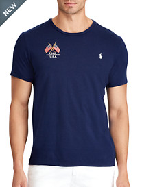Polo Ralph Lauren® Embroidered Flag Tee