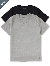 Under Armour® 2-Pk. Stretch V-Neck Undershirts