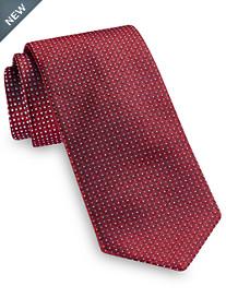 Brioni Small Diamond Dot Silk Tie