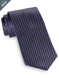 Brioni Linear Geo Silk Tie