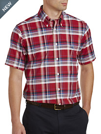 Brooks Brothers® Non-Iron Plaid Oxford Sport Shirt