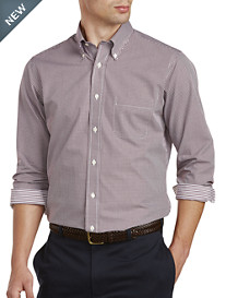 Brooks Brothers® Non-Iron Mini Gingham Broadcloth Sport Shirt