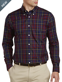 Brooks Brothers® Non-Iron Plaid Dobby Sport Shirt