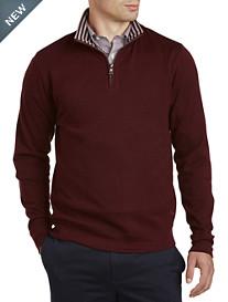 Brooks Brothers® Doubleface Half-Zip Pullover