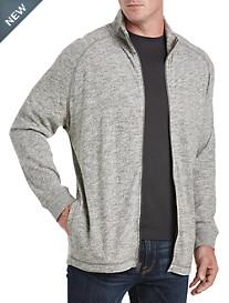 Lucky Brand® Heather Full-Zip Knit Jacket