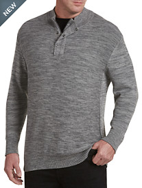 Society of One® Quarter-Zip Cotton Jersey Pullover