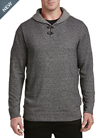 Rochester Heather Terry Shawl-Collar Pullover