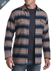 Original Penguin® Brushed Flannel Stripe Sport Shirt