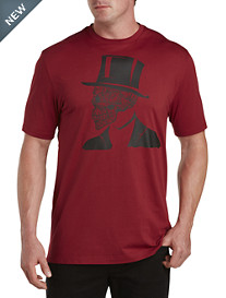 Robert Graham® Top Hat Skull Tee