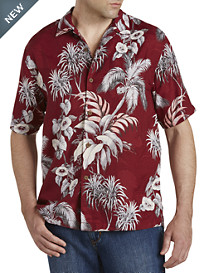 Tommy Bahama® Boca Da Palm Silk Camp Shirt