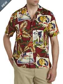 Tommy Bahama® Tommy Holidays Silk Camp Shirt