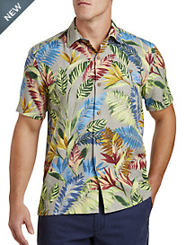 Tommy Bahama® Taza Fronds IslandZone® Camp Shirt