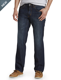 Tommy Bahama® Barbados Authentic Straight Fit Jeans – Dark Indigo Wash