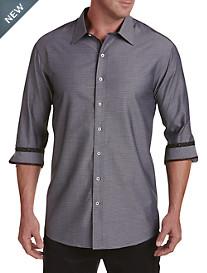 Twenty-Eight Degrees Diamond-Print Sport Shirt