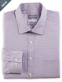Michael Kors® Non-Iron Dobby Mini Check Stretch Dress Shirt