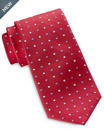 Rochester Medium Oxford Dot Silk Tie