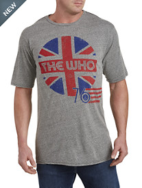 Retro Brand The Who Graphic Tee
