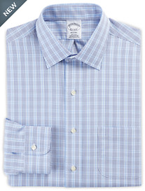 Brooks Brothers® Non-Iron Double Overcheck Broadcloth Dress Shirt