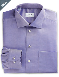 Eton® Textured Solid Dress Shirt